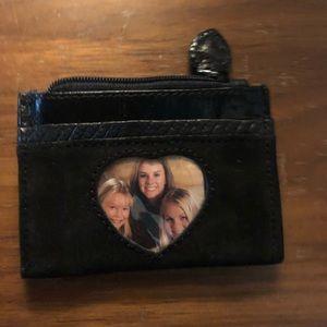 Brighton card holder with photo